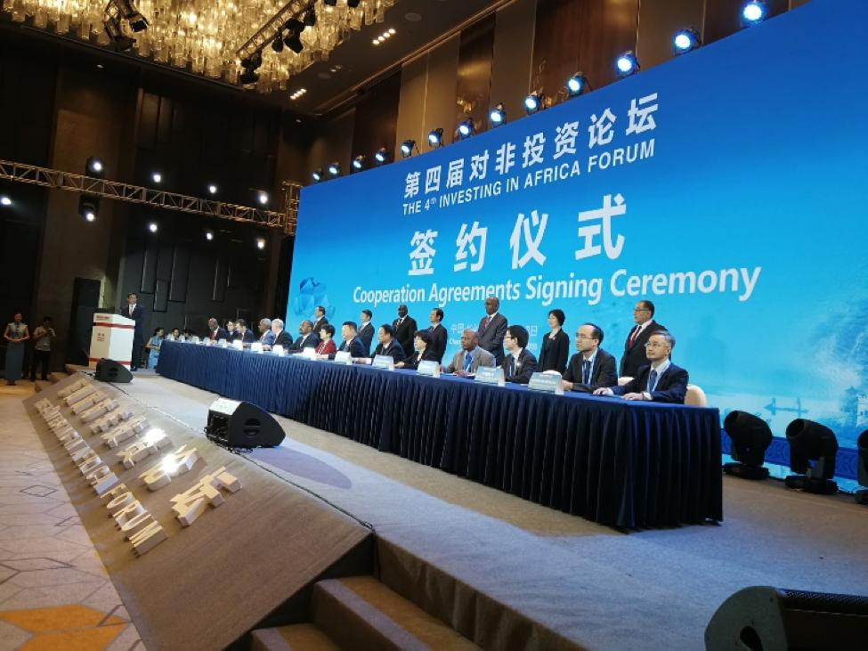 Foton Motor se asocia con CADF y CAFIC para co-crear un nuevo modo de desarrollo de inversión China-África